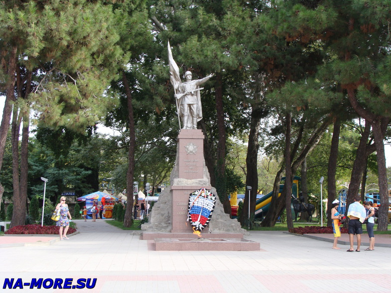 Памятник Воину-победителю в Геленджике