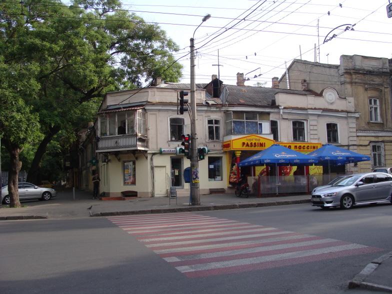 На улицах Одессы.