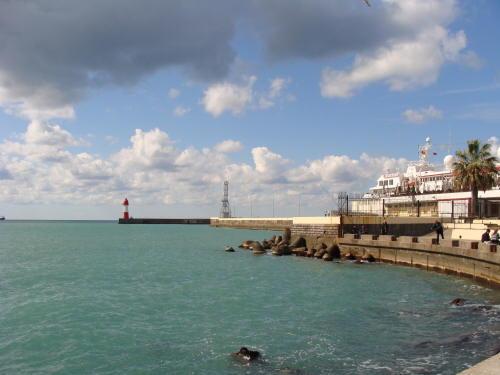 В морском порту Сочи