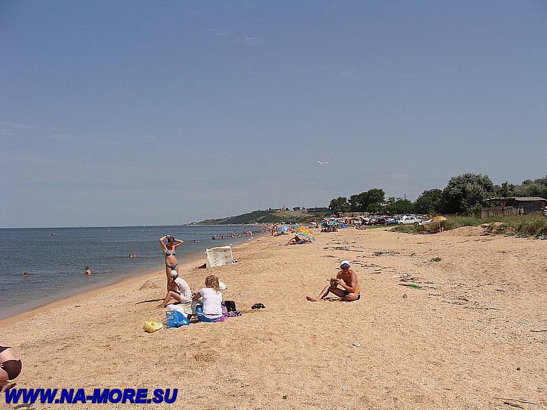 Азовское море. Около Голубицкой